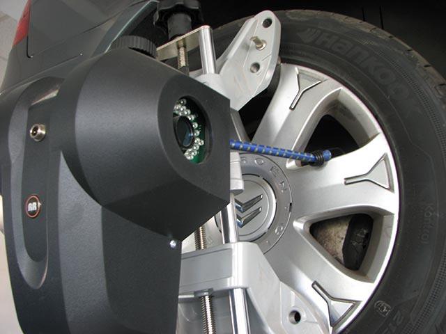 Masina pe rampa 2 - geometrie 3D roti - Auto AS International